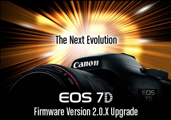 New Features Coming to The Canon 7D in August
