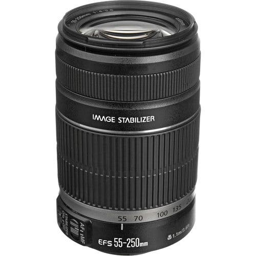 Cheap Photo Deal: Canon EF-S 55-250mm Lens At a Steep Discount for $149