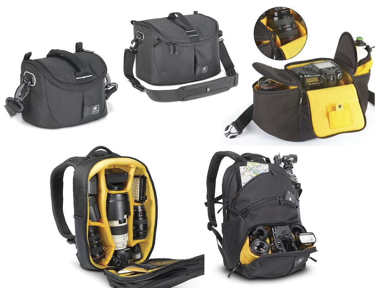 Manfrotto & Kata Introduce Series Of New D-Light Camera Bags