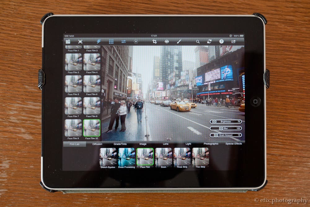 Video Review: Tiffen Photo fx 5 Ultra For iPad