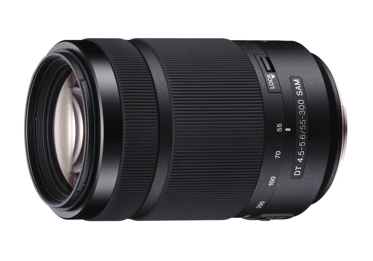 Sony Announces New 55-300mm f4.5-5.6 Superzoom A Mount Lens