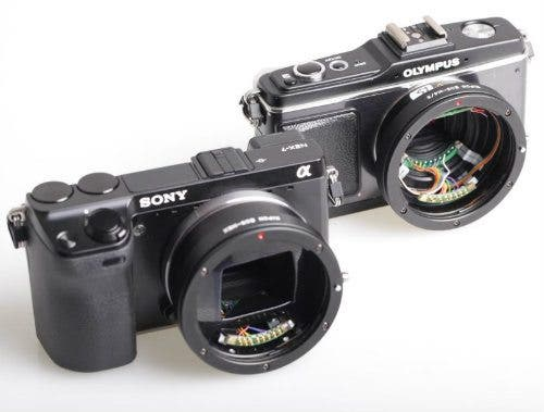 Kipon Developing Fully Coupled EF Adapter For Micro Four Thirds And NEX