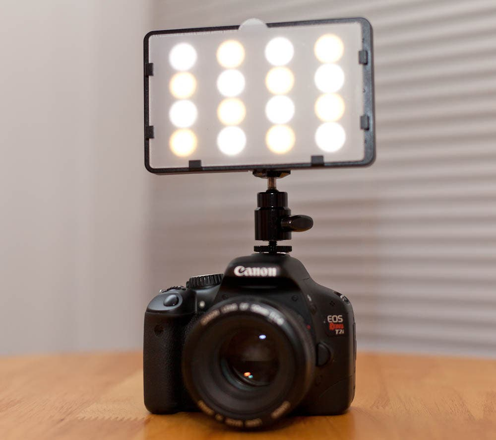 Review: Switronix TorchLED Bolt On-Camera LED Light
