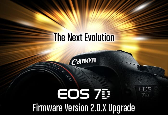 Firmware 2.0 For The Canon 7D is Now Available