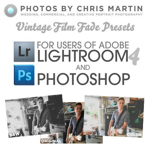 First Impressions: Vintage Film Fade Presets by Chris Martin