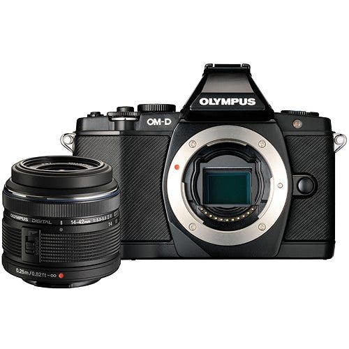 In-Stock Alert: Olympus OM-D E-M5 Black Kits Back In-Stock at B&H