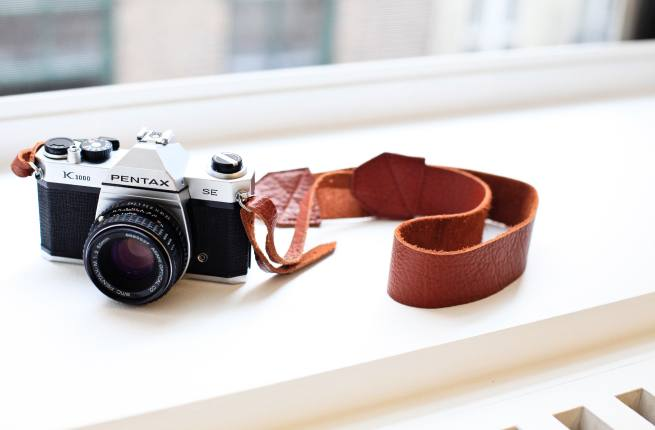 Apt No. 7's Pebble Brick Original Camera Strap May Think You're a Creep For Staring at Its Gorgeous Looks