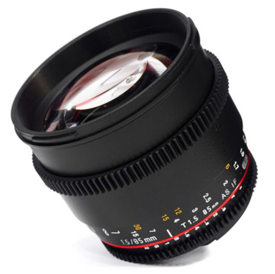 Samyang Brings In The 85mm T/1.5 A-Mount Lens