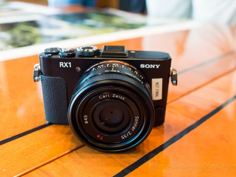 First Impressions: Sony Cybershot RX-1