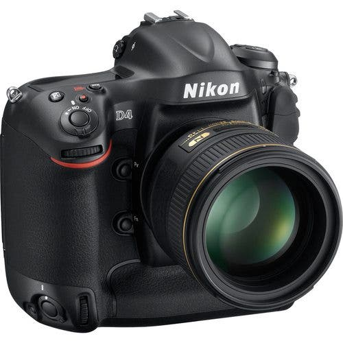 The Nikon D4 is In Stock at B&H Photo: Ask Your Mom and Dad to Buy One For You