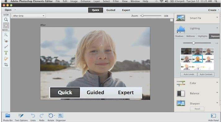 New Adobe Photoshop Elements 11