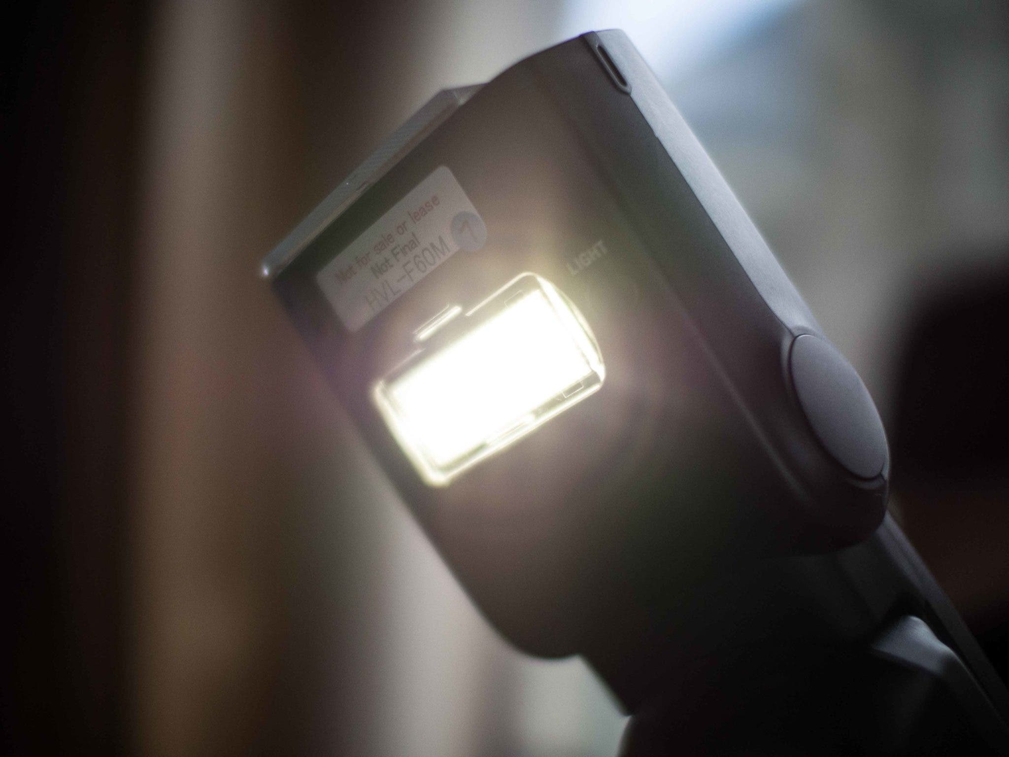 First Impressions: Sony HVL-F60M Flash