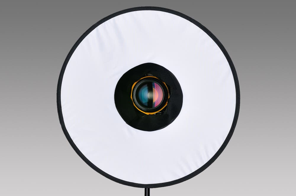 RoundFlash Collapsible Ring Flash Diffuser Receives an Update/Fix