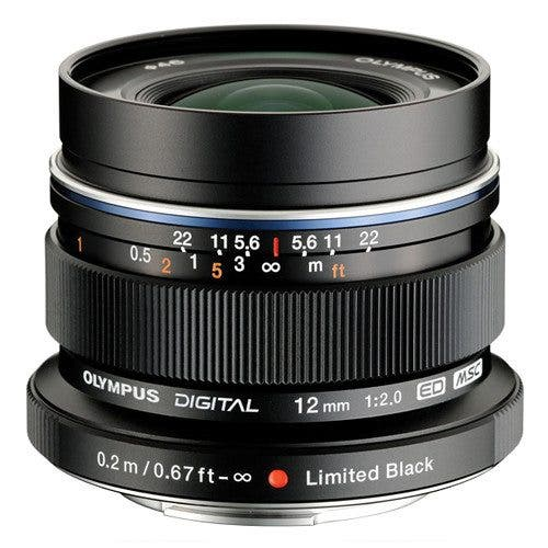 In Stock Notice: The Black Edition of the Olympus 12mm f2 Is Worth Getting Hot and Bothered Over