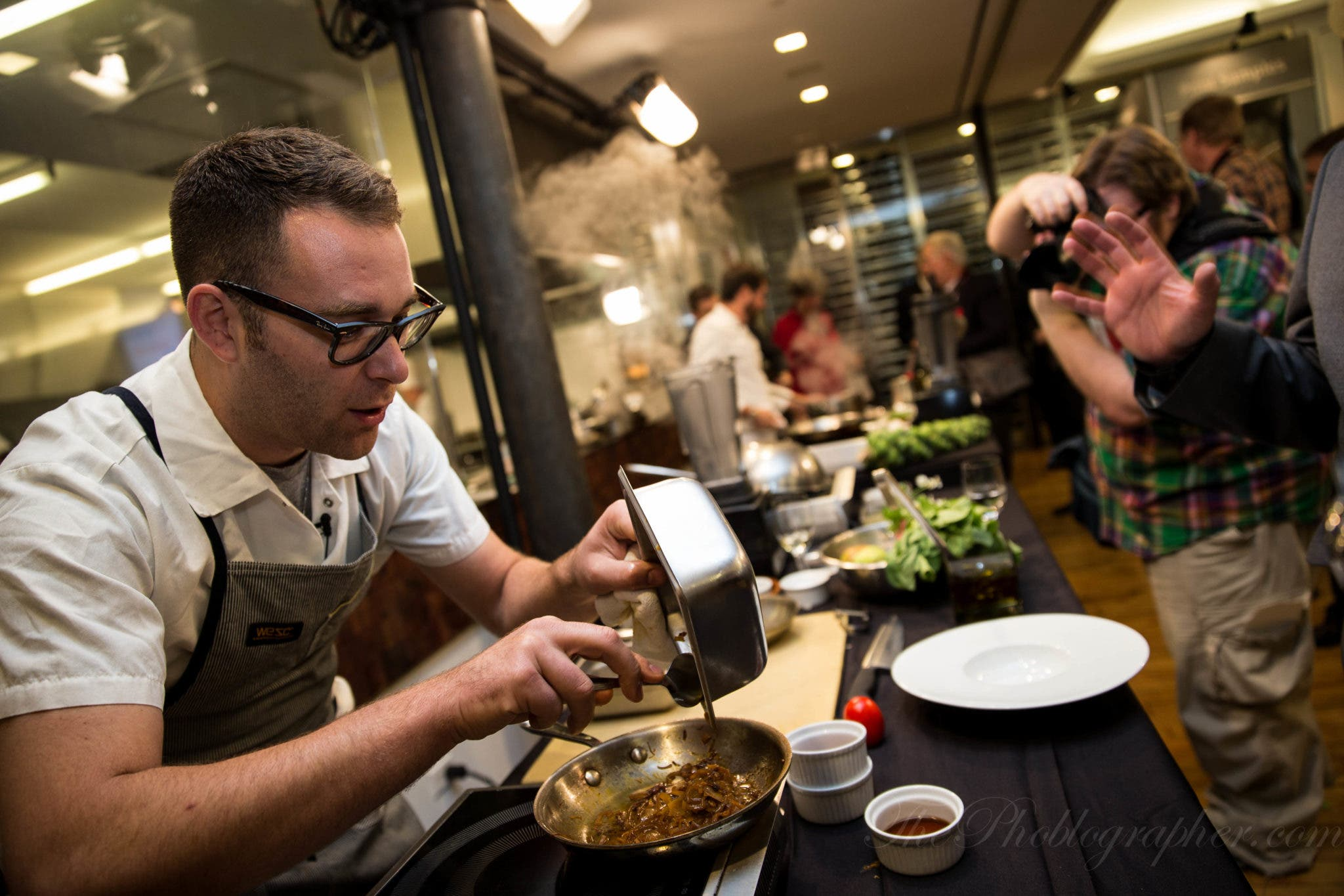 Using the Canon 1D X and the 24-70mm f2.8 L II To Shoot Former Top Chef Winners
