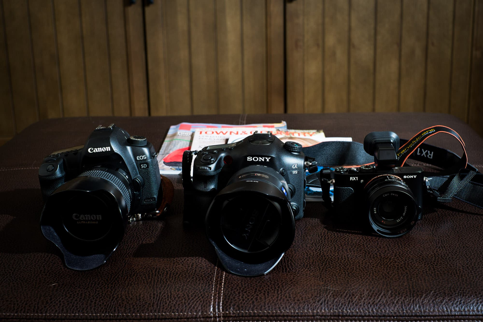 Quick Unscientific High ISO Comparison: Canon 5D Mk II, Sony A99, and Sony RX-1