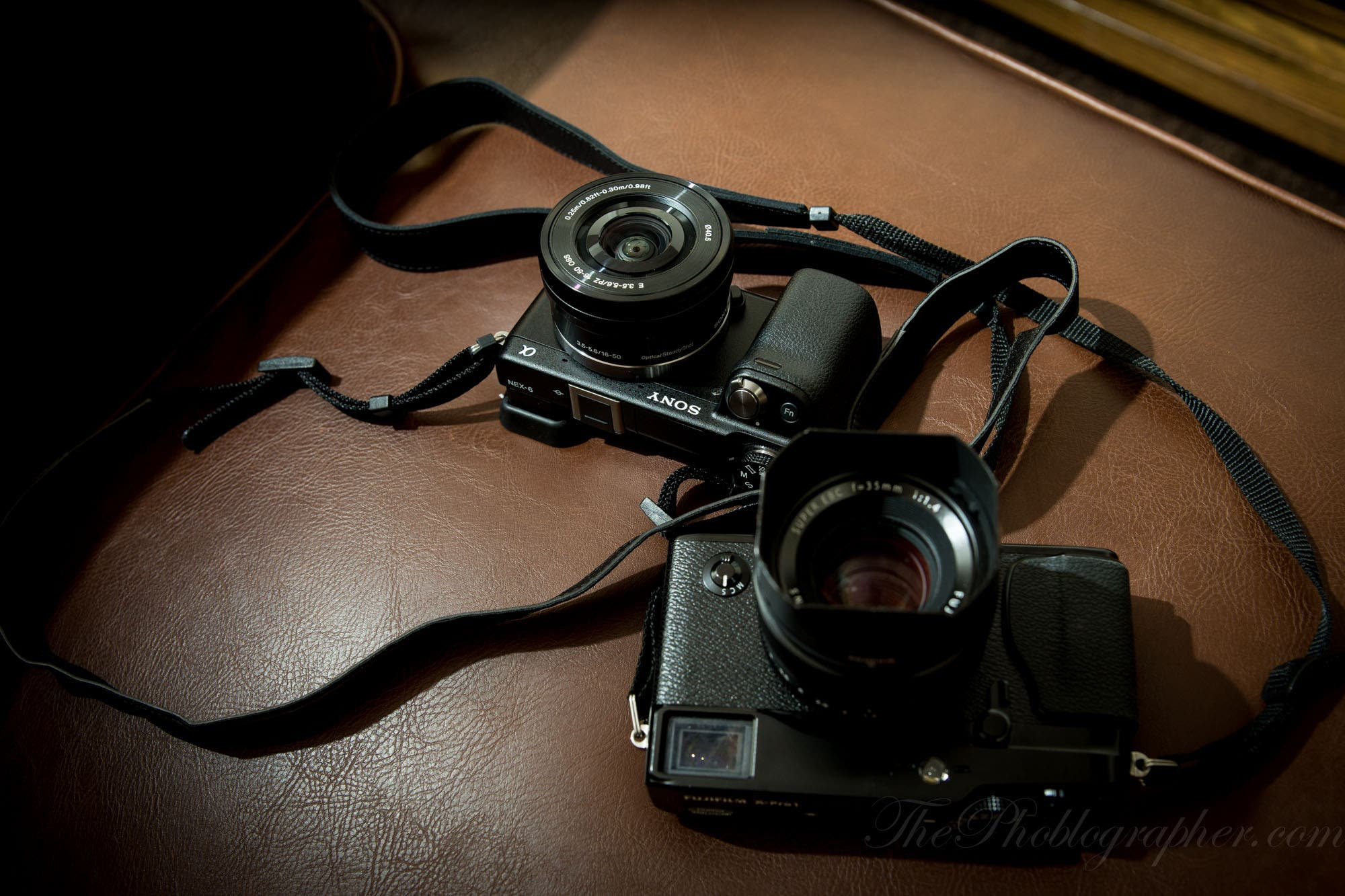 we previously put the fujifilm x pro 1 against the sony nex 6 as a