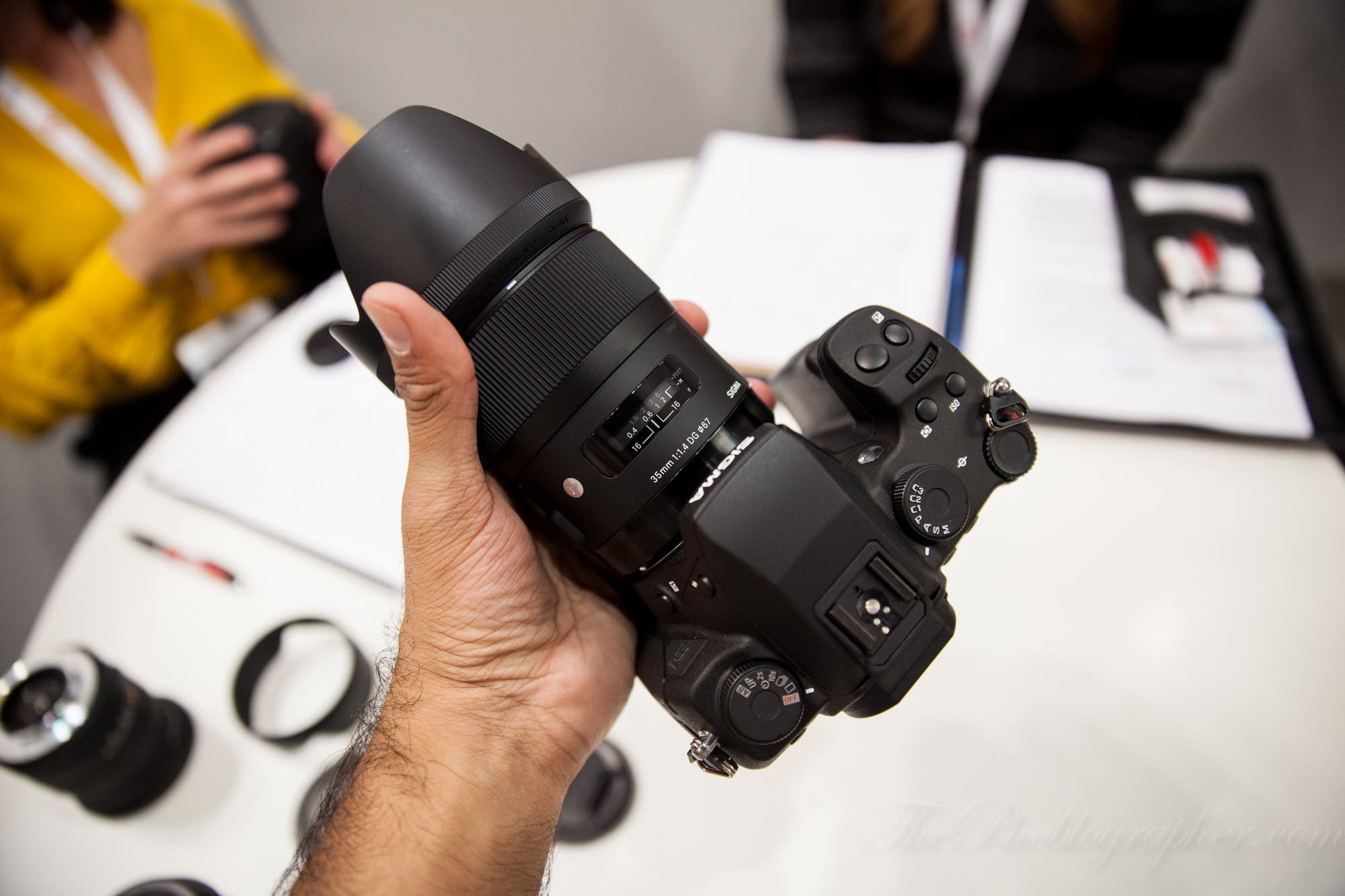 Sigma's New Artsy 35mm f1.4 Lens Gets a Price Tag