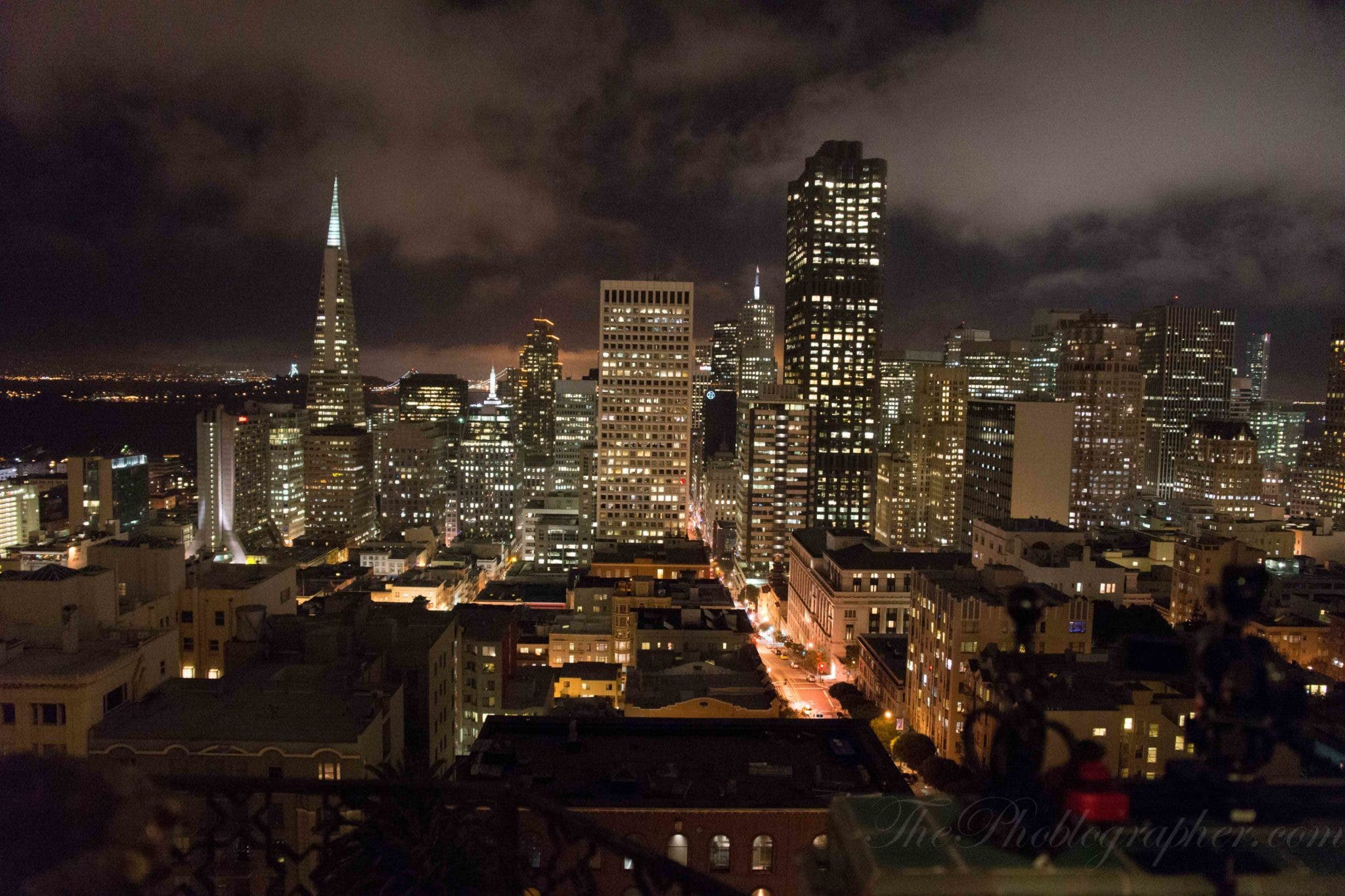 High ISO Cityscape Image Sample from the Sony A99 (and a Long Exposure!)