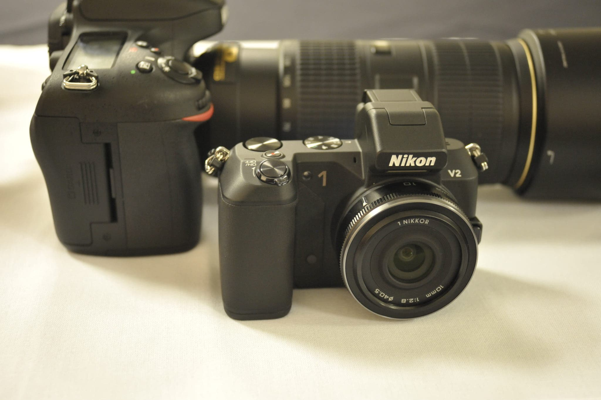 First Impressions: Nikon 1 V2 (and a Quick Glimpse of the Nikon 70-200mm f4 G ED VR)