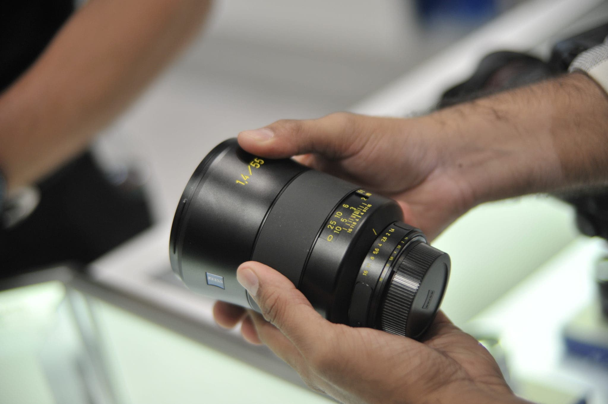 Zeiss's New 55mm f1.4 Receives Some Serious Hype