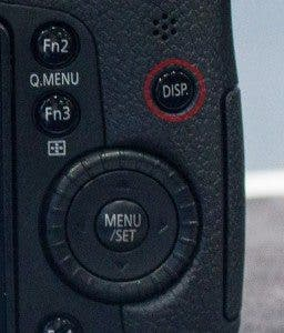 GH3 Display Button