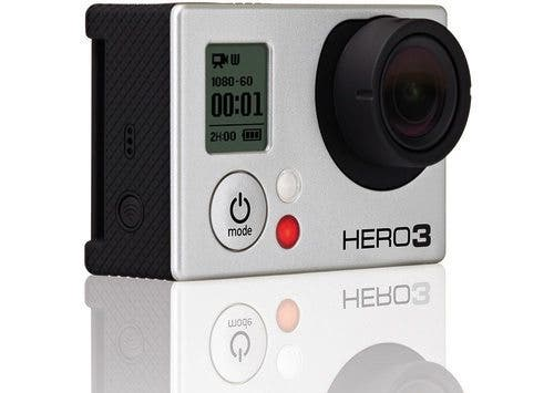 GoPro Hero3 Now Comes in Both Black and Silver; 4K Video Recording