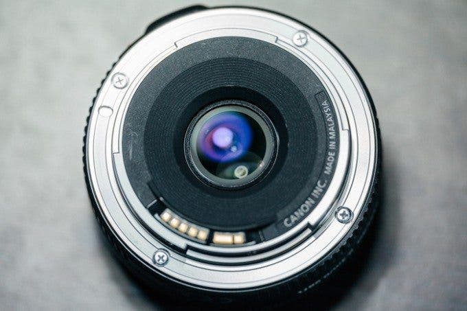 Canon 40mm f/2.8 Rear Element