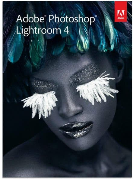 Adobe Lightroom 4 Packaging