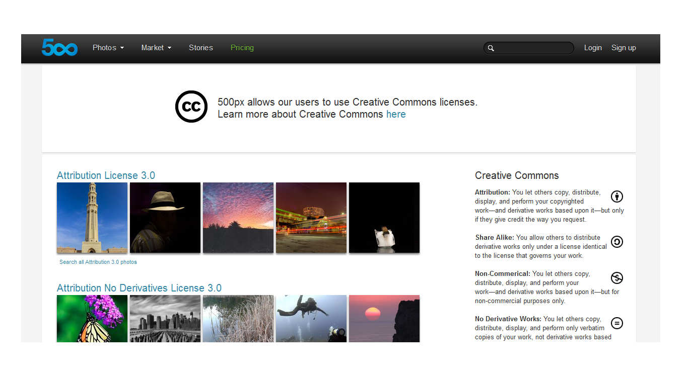 500px Decides the Timing is Right for Adopting Creative Commons Licensing Options