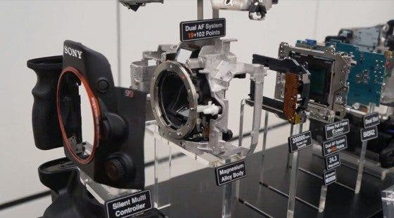 Sony A99 Gets Torn Down Because You Sick Masochists Like Seeing What's Inside Stuff