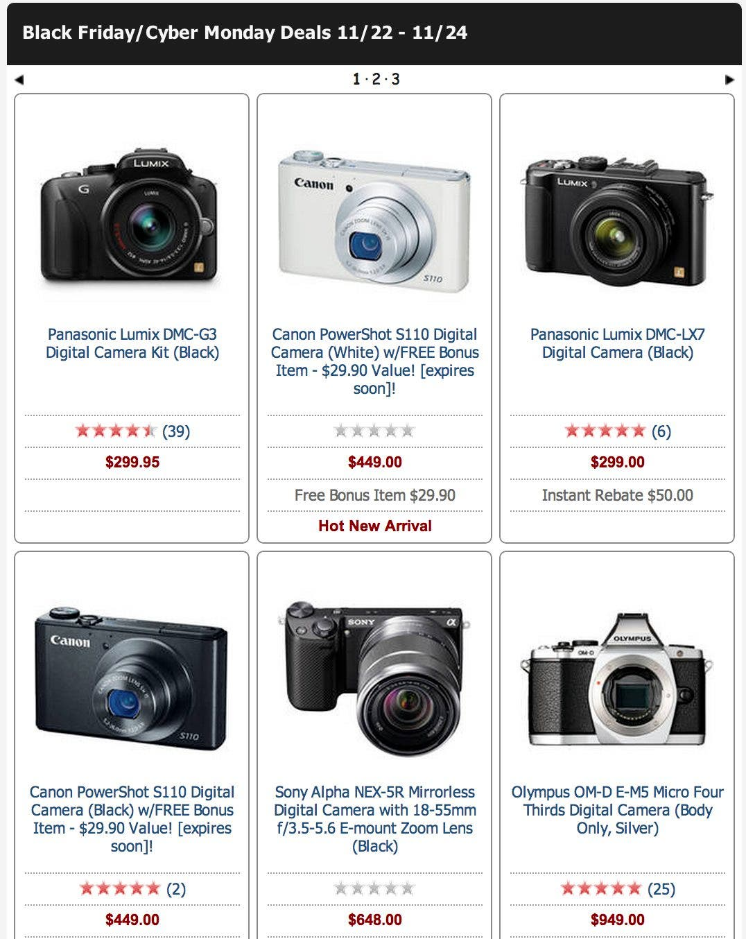 Cheap Photo: The Revenge of Black Friday. B&H Created This Beautiful Widget Thinger For You to Spend Money On