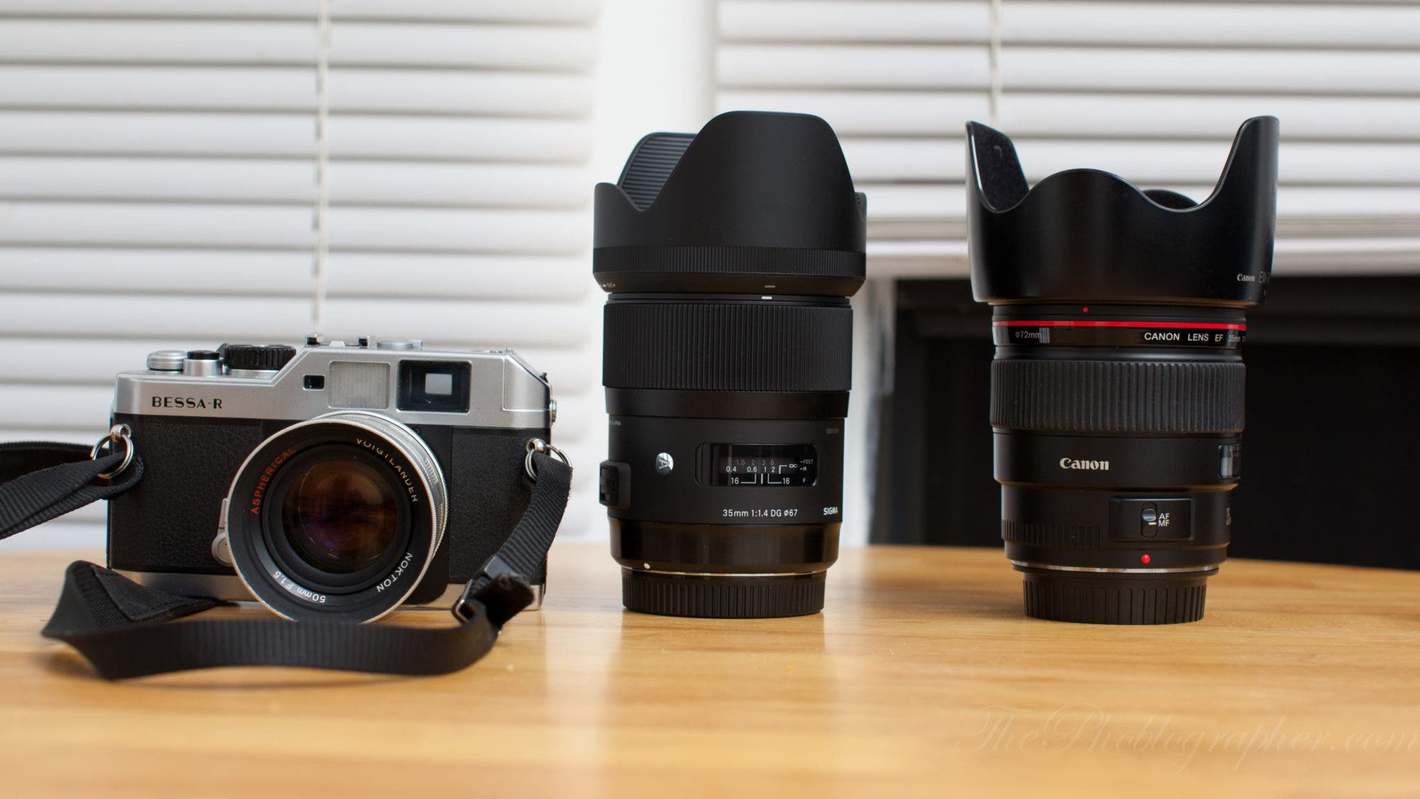 Quick Informal Lens Comparison: Canon 35mm f1.4 L vs Sigma 35mm f1.4
