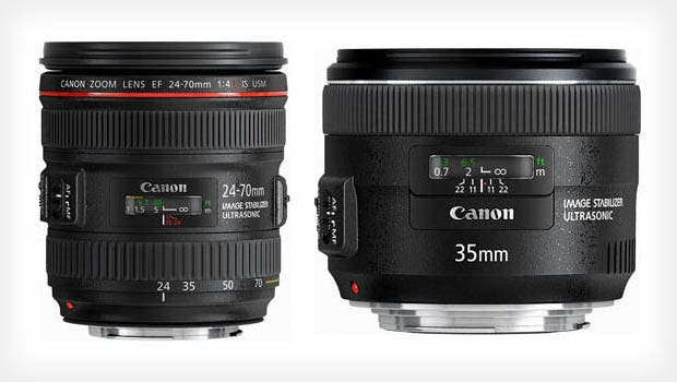 It's True, Canon's EF 24-70 f/4L IS and EF 35 f/2 IS Are Real