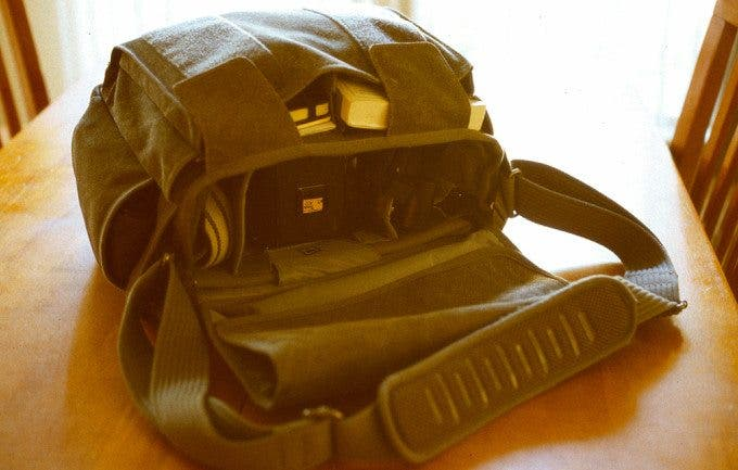The Think Tank Retrospective 40 Shoulder Bag - Gear Used