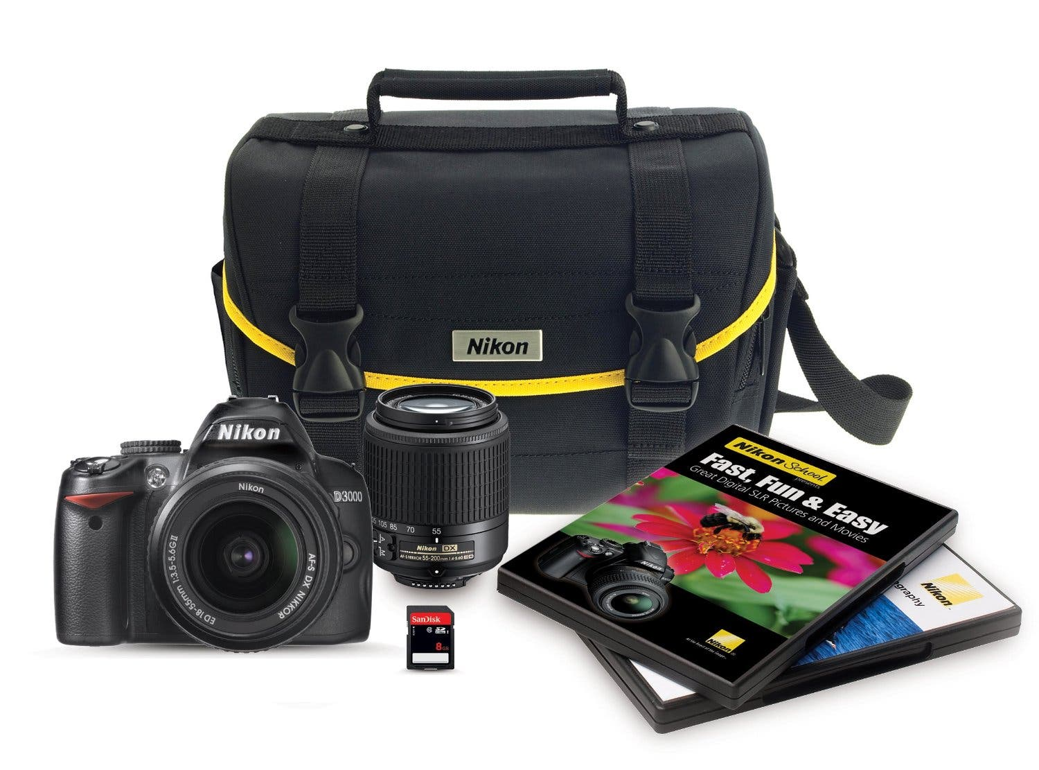 Cheap Photos: Get the Nikon D3000 and a Bunch of Crap You'll Never Use for Under $500