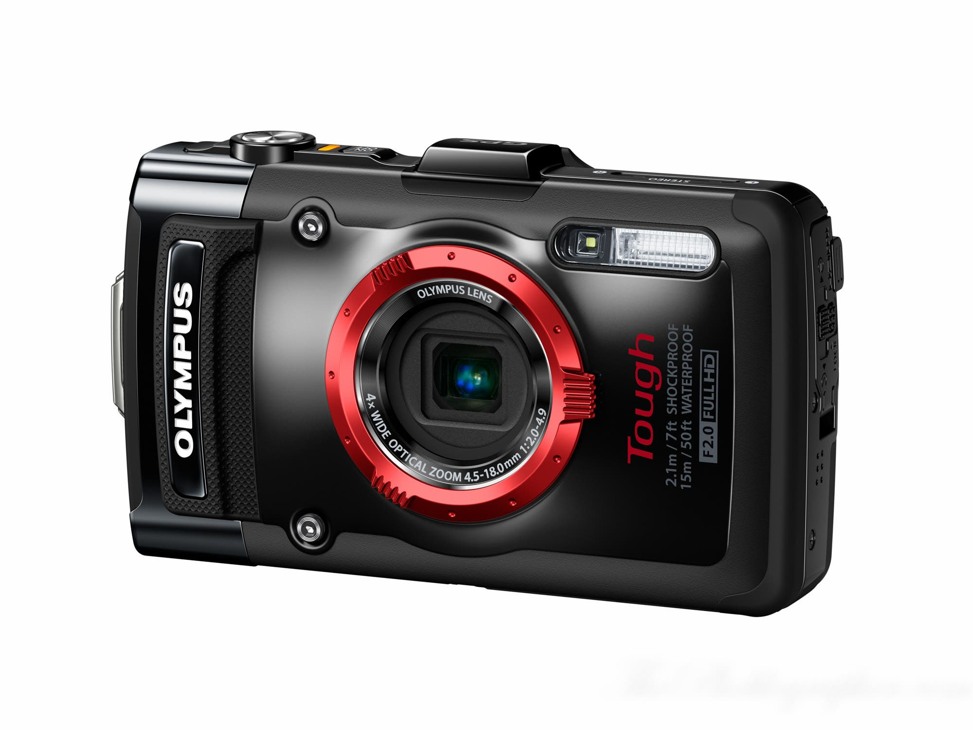 Olympus's TG-2 Can Be Submerged 50ft, Has Probably Seen A Real Life Kraken Before You