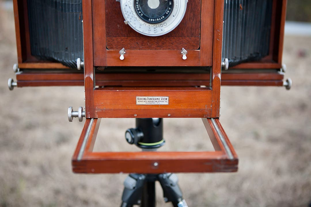 Prepping an 8×20 Camera for a Documentary Project