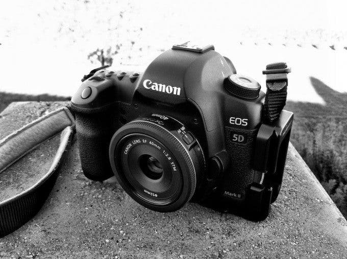 Canon 40mm STM on 5DmkII