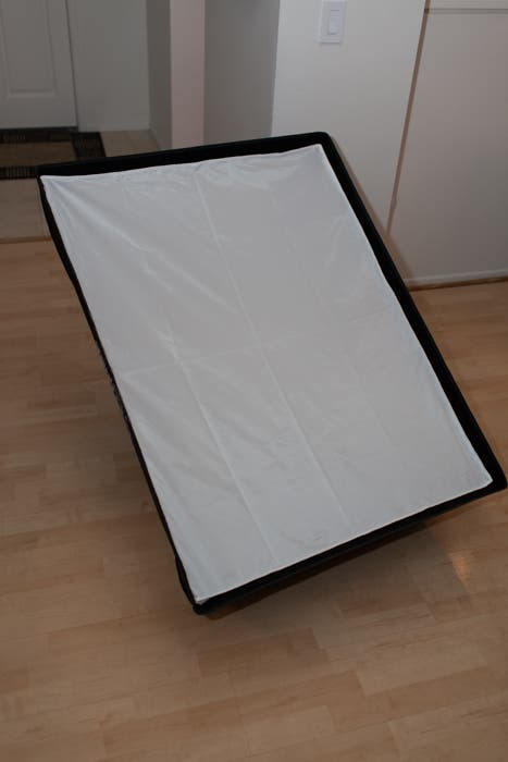 3x4' Rectangular Softbox Assembled
