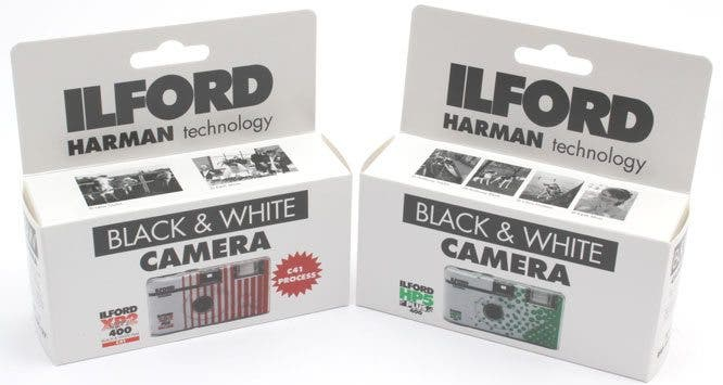 Ilford Releases New Single Use XP2 and HP5 Cameras