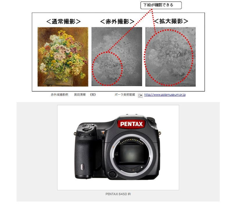 Pentax Releases 645D IR, But Only Does So in Japan