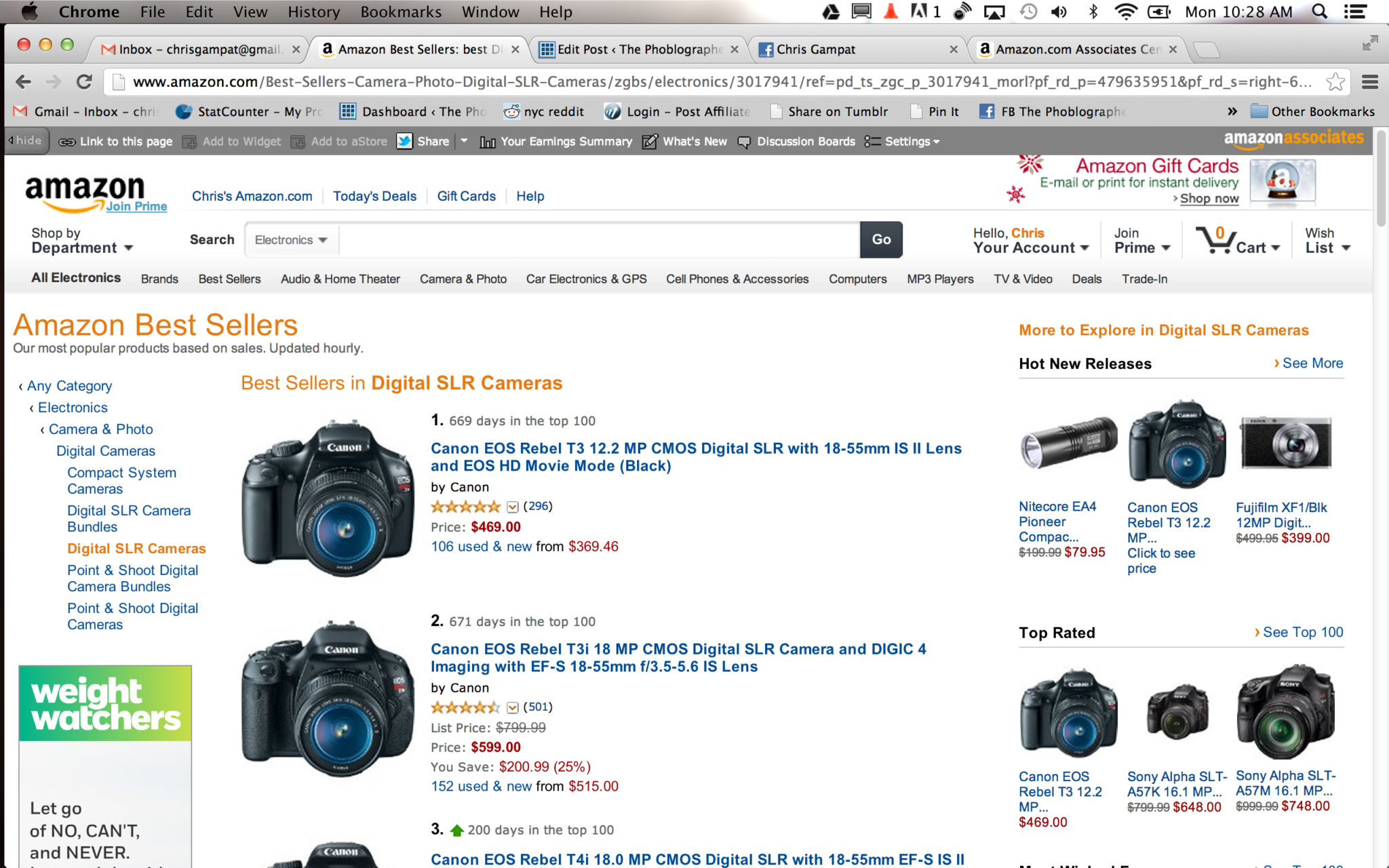 Cheap Photo: Take a Guess at What Amazon's Top Selling DSLRs Are?