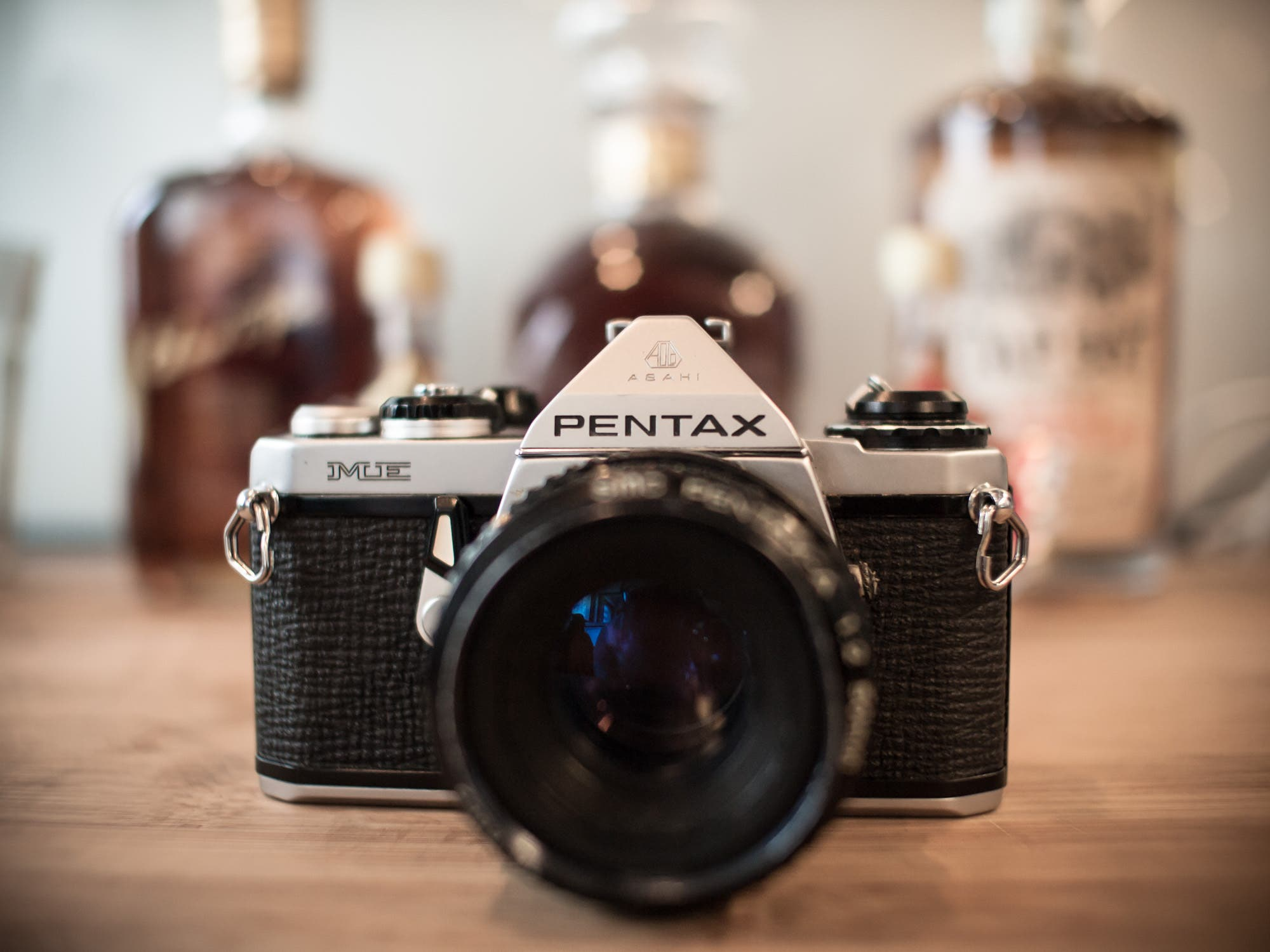 the pentax mx one of the smallest 35mm film cameras