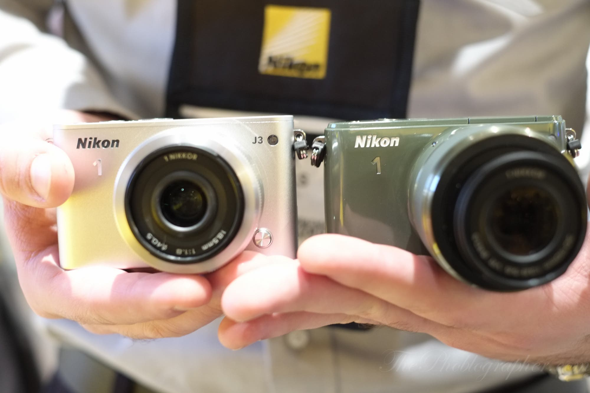 First Impressions: Nikon J3 and S1