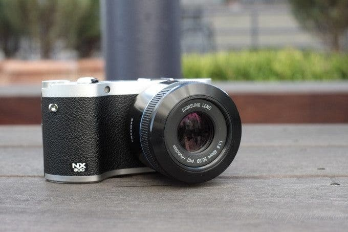 First Impressions: Samsung NX300 and 45mm f1 8 3D - The
