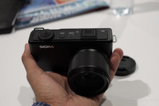 Chris Gampat The Phoblographer Sigma DP3 CES 2013 First Impressions (9 of 9)ISO 16001-320 sec at f - 4.0