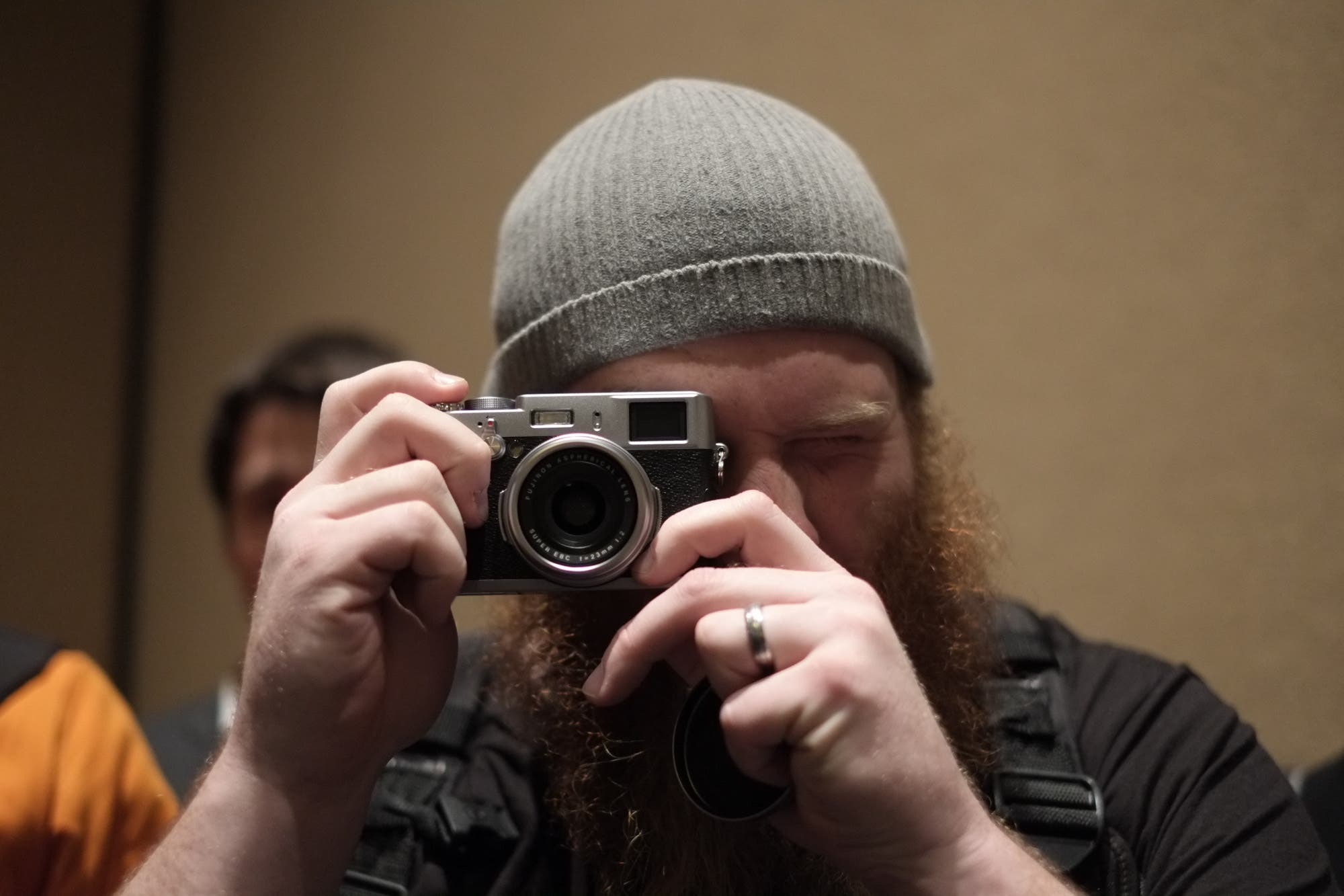 You Won't Hear the Fujifilm X100s' Shutter Over Obnoxiously Loud Party Goers