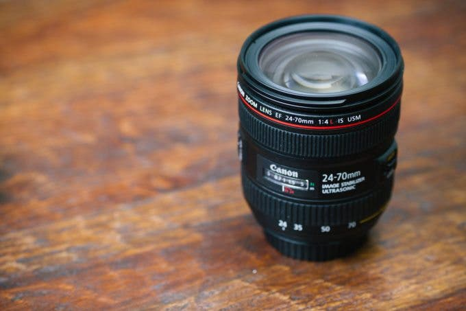 Canon 24-70mm f4L IS