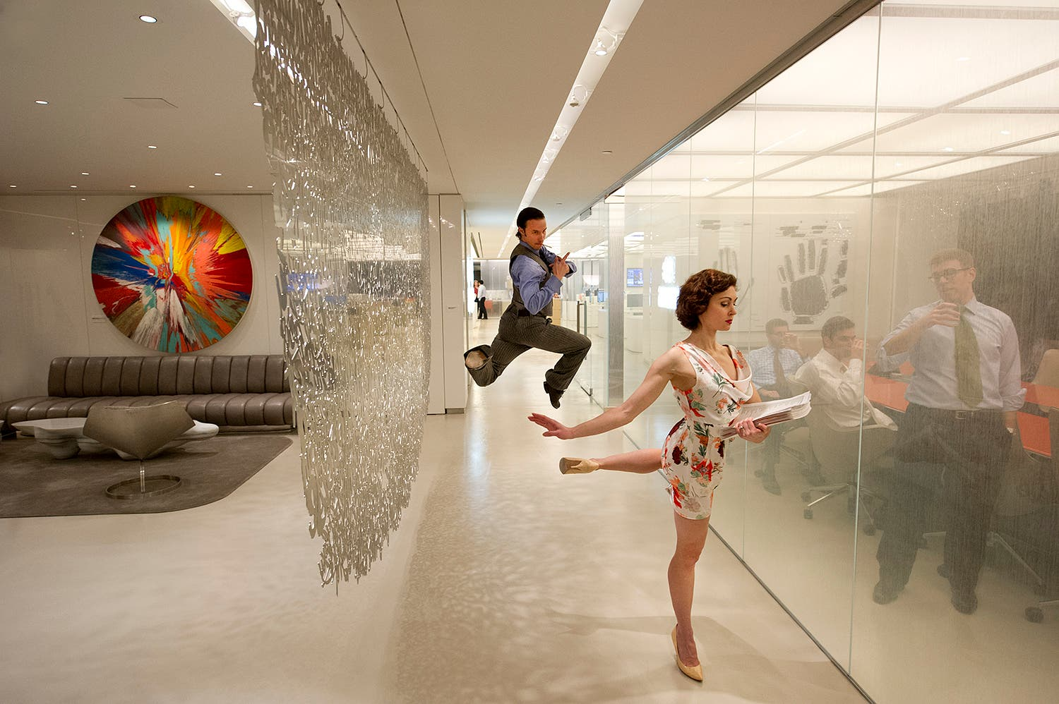 Jordan Matter Photographs Dancers Mad Men Style